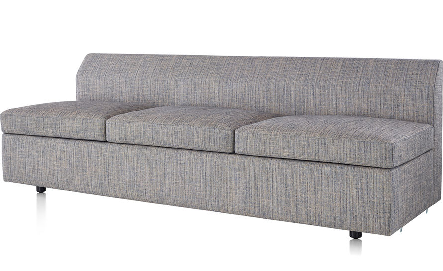Bevel 3 Seat Sofa - hivemodern.com