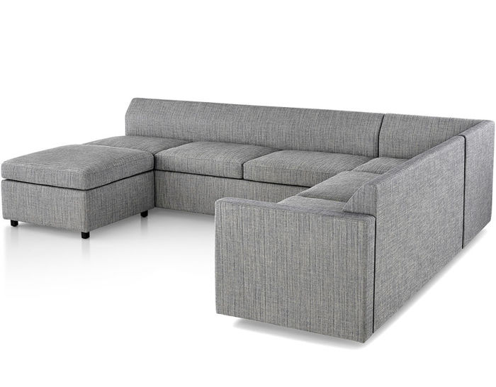 bevel sectional sofa
