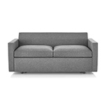 bevel settee with arms  -