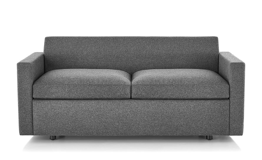 bevel settee with arms