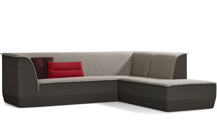 Big island 3 seat sofa with chaise for Artifort chaise lounge