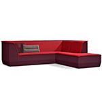 big island sofa with chaise  - artifort