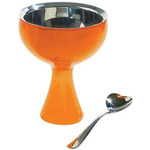 big love ice cream cup and spoon  -
