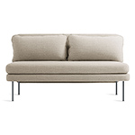 bloke armless sofa  - blu dot
