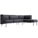 bloke sofa with chaise  - blu dot