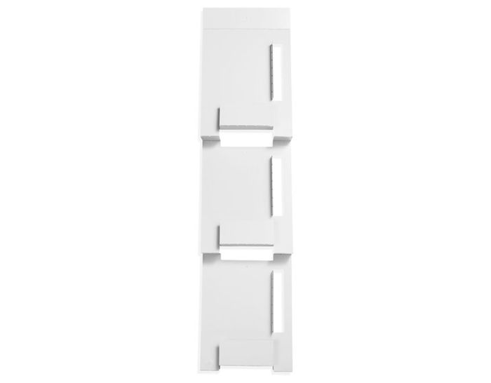 blu dot 2d:3d wall mount magazine rack