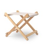 bm5768 outdoor footstool - Borge Mogensen - Carl Hansen & Son