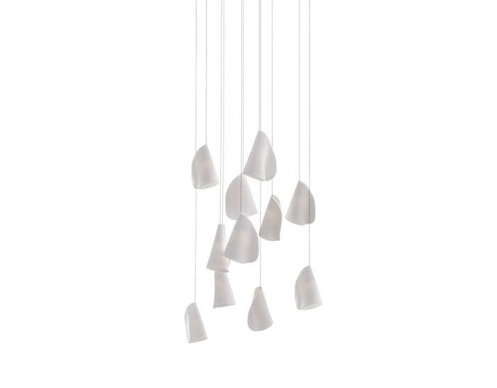 bocci 21.11 eleven pendant chandelier