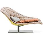 bohemian chaise longue - Patricia Urquiola - Moroso