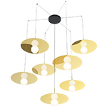 bola disc multi suspension lamp  - pablo