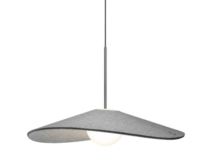bola felt suspension lamp