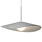 bola felt suspension lamp  - pablo