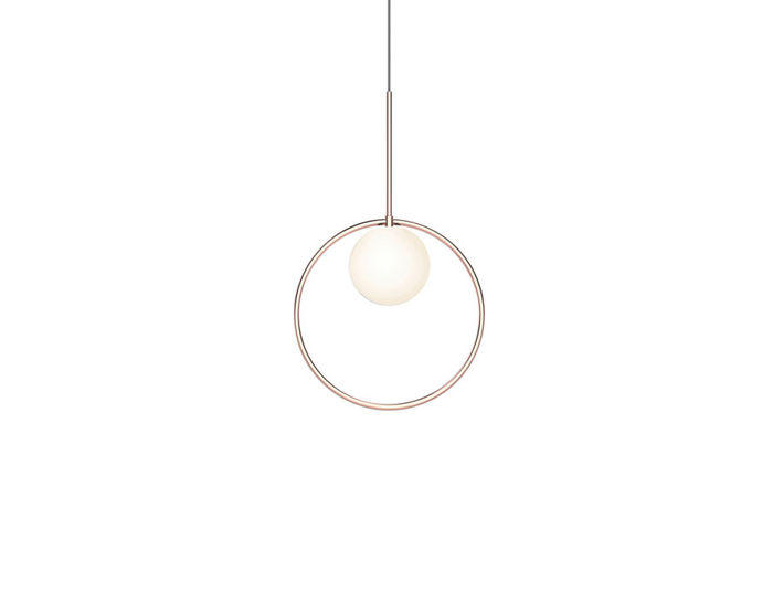 bola halo suspension lamp