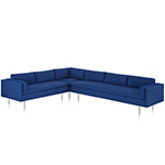 bolster sectional sofa  -