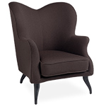 bonaparte lounge chair  - gubi