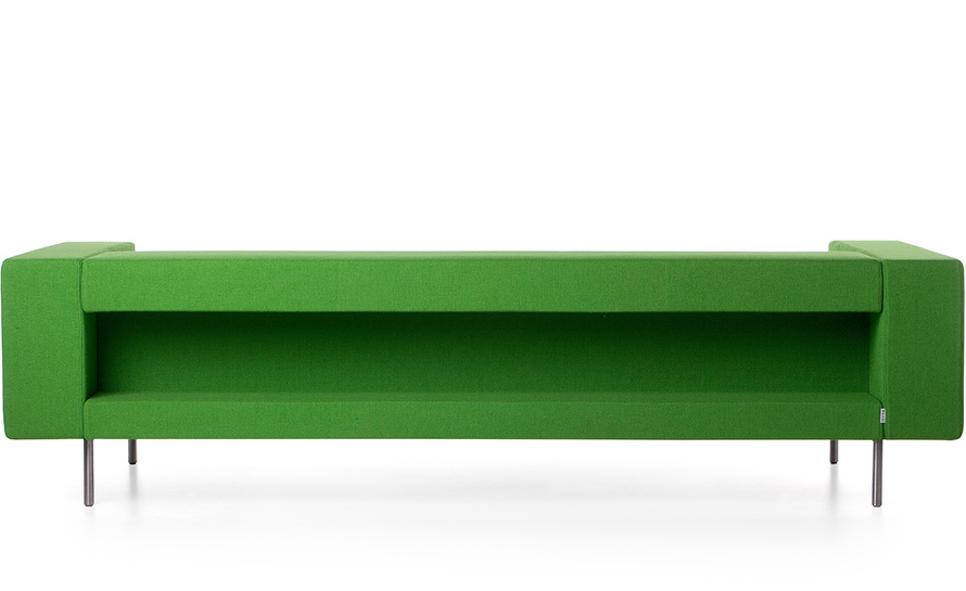bottoni shelf triple seater sofa