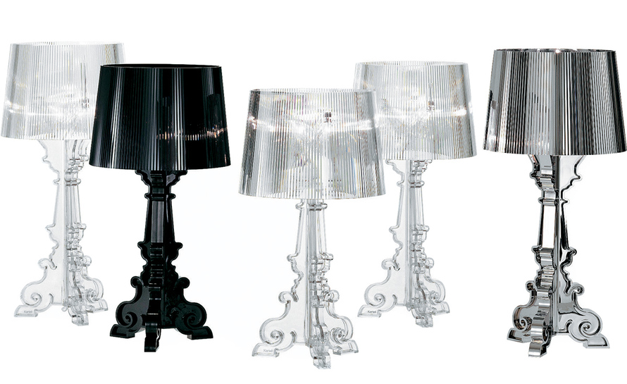 Bourgie table lamp for Ferruccio laviani bourgie lamp