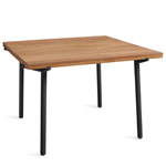 branch square dining table  - blu dot