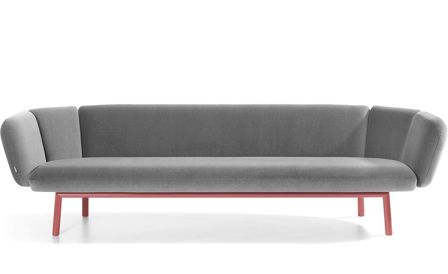 Bras 3 Seat Sofa - hivemodern.com