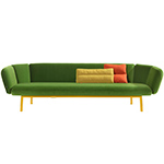 bras 3 seater sofa  - artifort