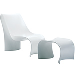 brasilia lounge chair - Ross Lovegrove - zanotta