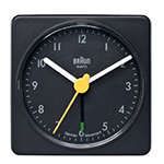braun bnc002 square alarm clock  -