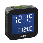 braun bnc008 digital alarm clock  -