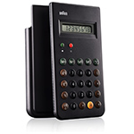 braun calculator - Dieter Rams - ameico