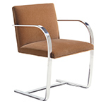 brno chair with flat bar frame