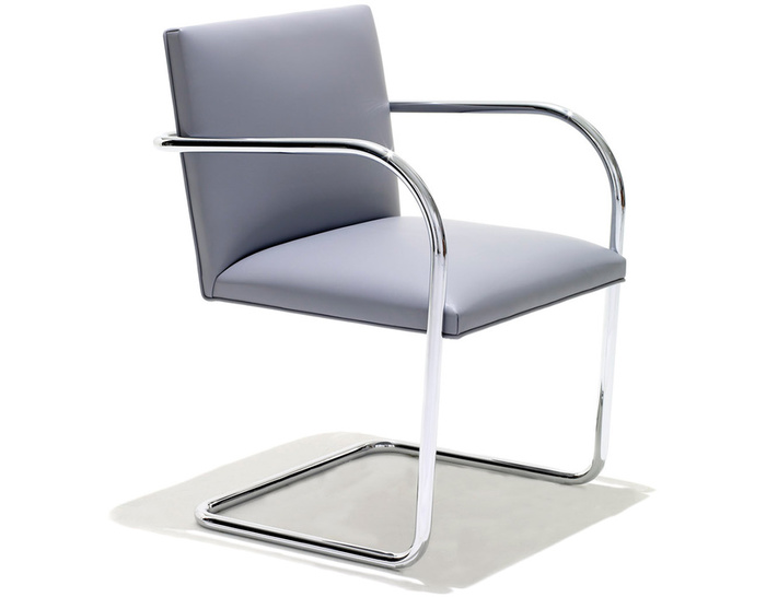Brno Chair With Tubular Steel Frame Hivemoderncom