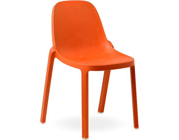 emeco broom stacking chair
