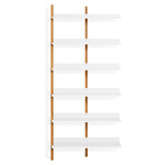 browser tall add-on bookcase  - blu dot