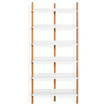 browser tall bookcase  -