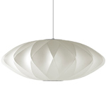nelson bubble lamp crisscross saucer - George Nelson - Herman Miller