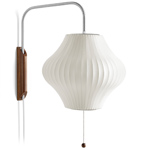 nelson™ bubble lamp wall sconce pear  -