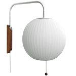 nelson bubble lamp wall sconce ball - George Nelson - Herman Miller