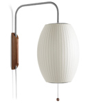 nelson bubble lamp wall sconce cigar - George Nelson - Herman Miller