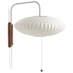 nelson bubble lamp wall sconce saucer - George Nelson - Herman Miller
