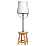bucket floor lamp  -