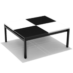 butler square coffee table  - Knoll