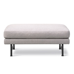 calmo 95 ottoman with metal base  -