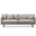 calmo 95 two seat sofa with metal base  - Fredericia