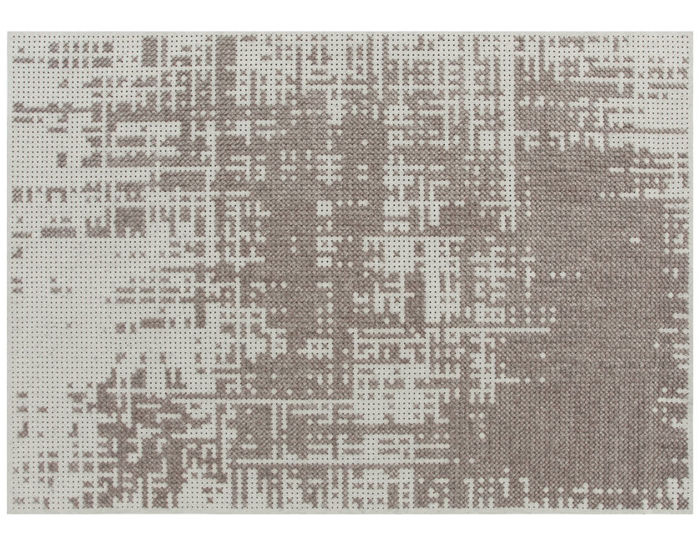 canevas abstract rug