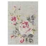 canevas flowers rug  -