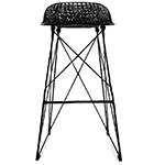carbon stool - Bertjan Pot - moooi
