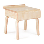 case study alpine bedside table  - modernica