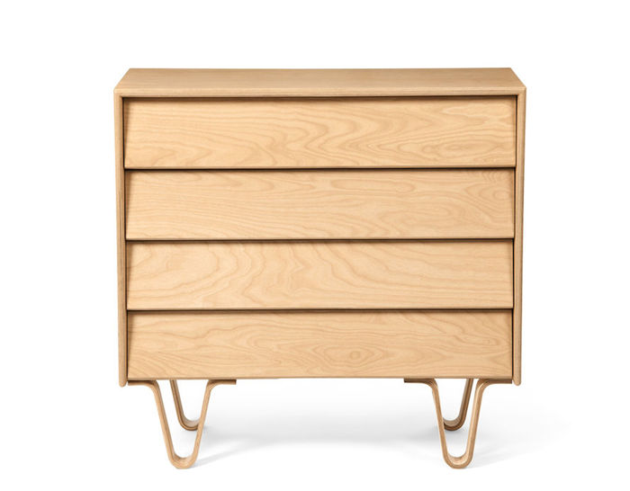 case study® bentwood 4 drawer dresser