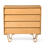 case study® bentwood 4 drawer dresser  -
