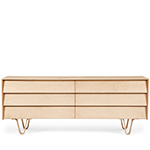 case study bentwood double wide dresser  - modernica