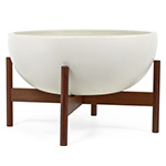 case study® bowl with wood stand  -